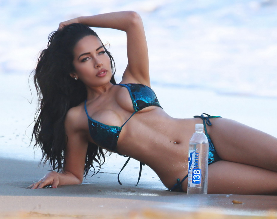 51879379 Playboy Playmate and MTV2 Wild'N Out host Nasia Jansen reveals her sexy bikini body on the set of a 138 Water photo shoot in Malibu, California on October 14, 2015. FameFlynet, Inc - Beverly Hills, CA, USA - +1 (818) 307-4813